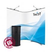 Flexi promo stěna TWIST 2 x 90 x 200