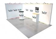 Výstavný stánok Písek 5x3 m